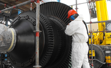 Turbine cleaning