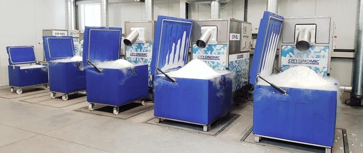 Create your own dry ice production factory with CRYONOMIC pelletisers