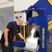 Trockeneisverpackungsmaschine